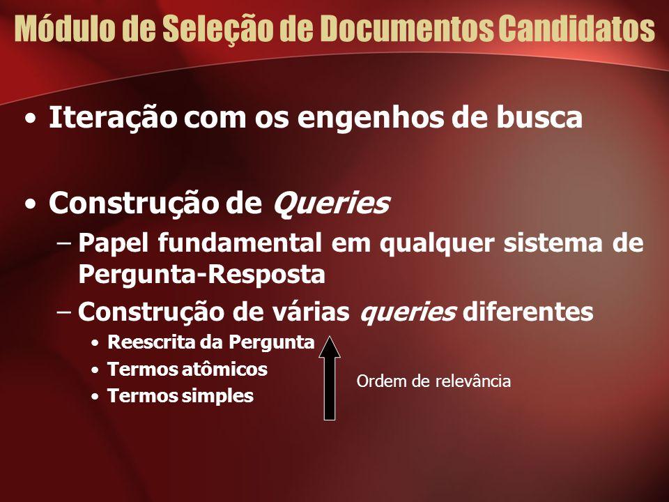 Módulo de Seleção de Documentos Candidatos