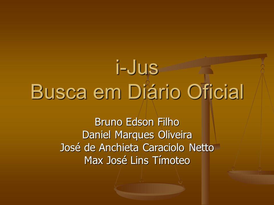 i-Jus Busca em Diário Oficial