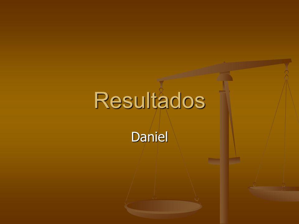 Resultados Daniel