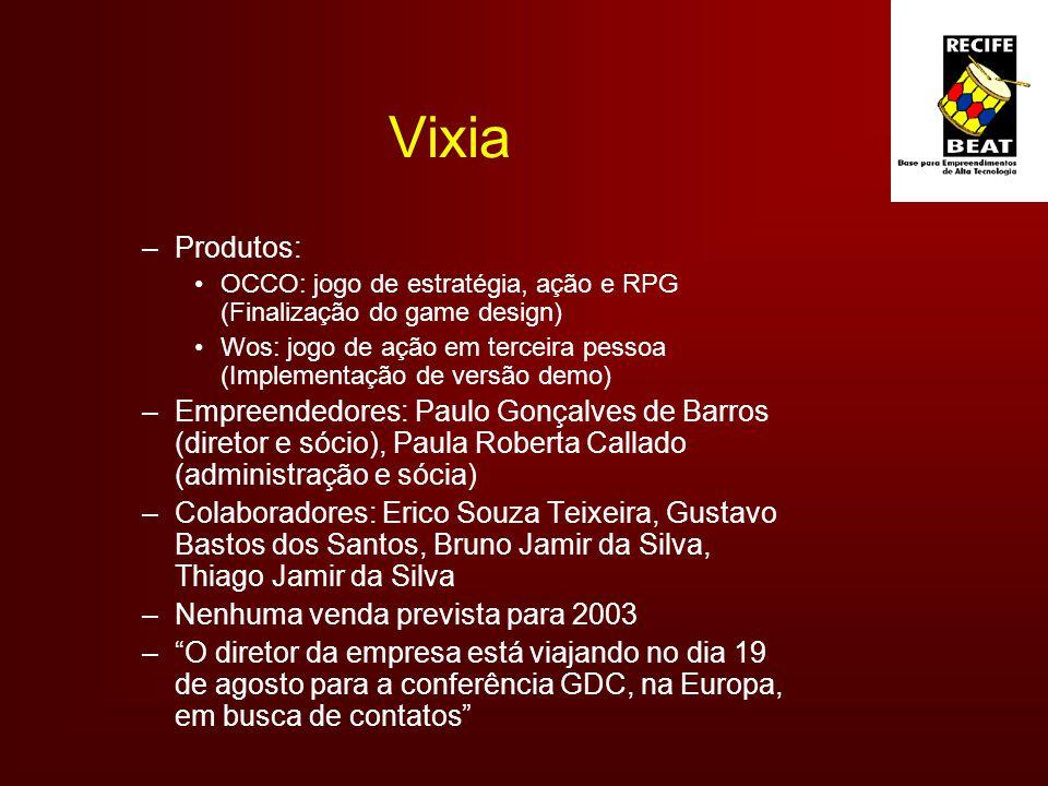Vixia Produtos: OCCO: jogo de estratégia, ação e RPG (Finalização do game design)