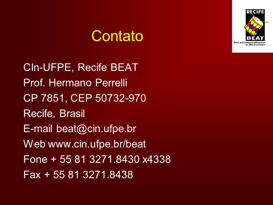 Contato CIn-UFPE, Recife BEAT Prof. Hermano Perrelli