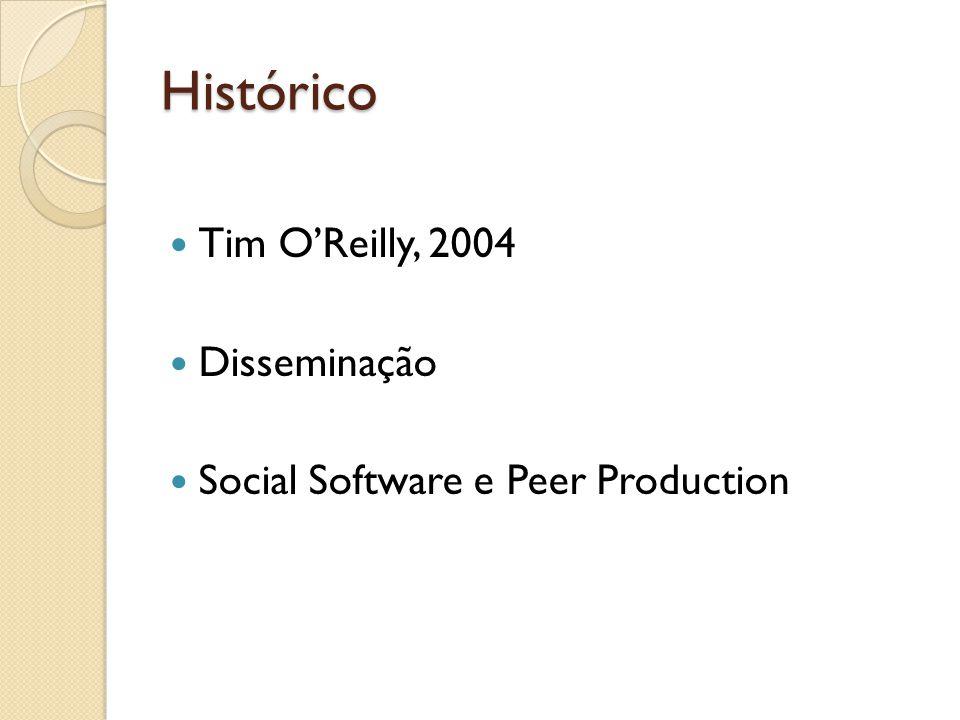 Histórico Tim O'Reilly, 2004 Disseminação