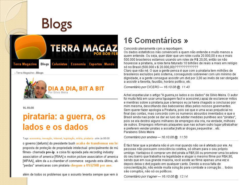Blogs Jorn Barger, 1997 Post Comentários