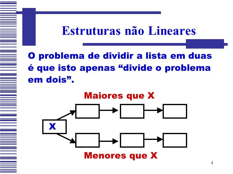 Estruturas não Lineares