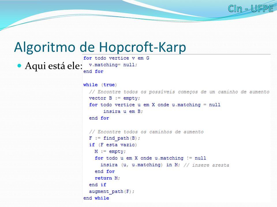 Algoritmo de Hopcroft-Karp