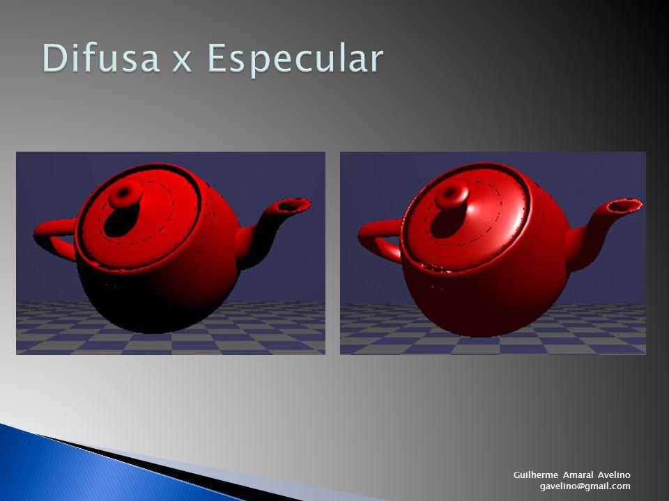 Difusa x Especular Guilherme Amaral Avelino gavelino@gmail.com