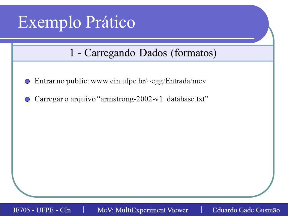 1 - Carregando Dados (formatos)
