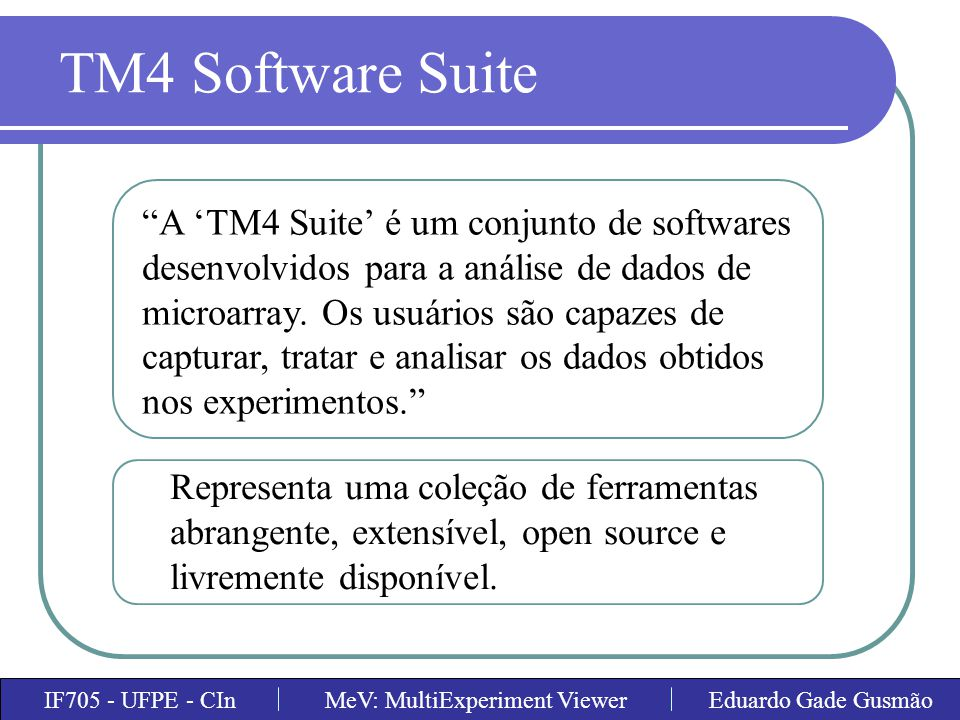 TM4 Software Suite