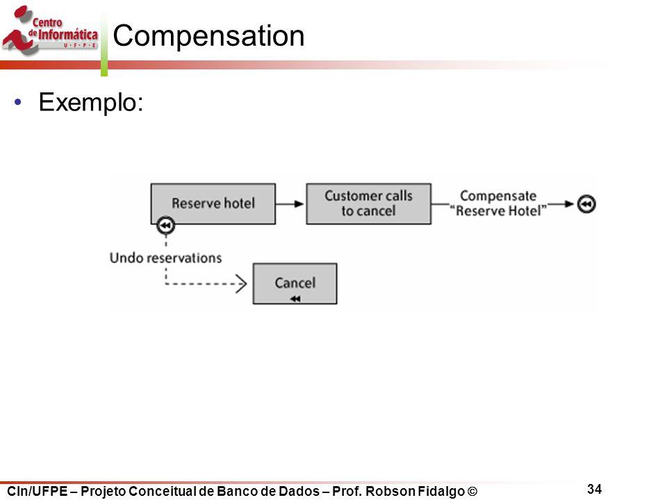 Compensation Exemplo: