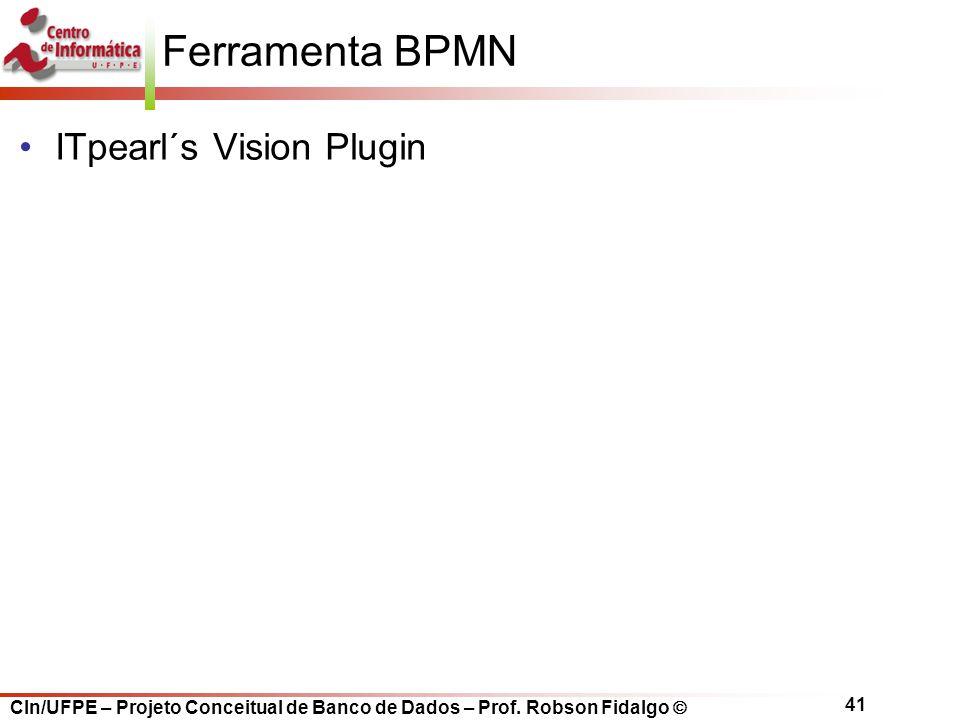 Ferramenta BPMN ITpearl´s Vision Plugin