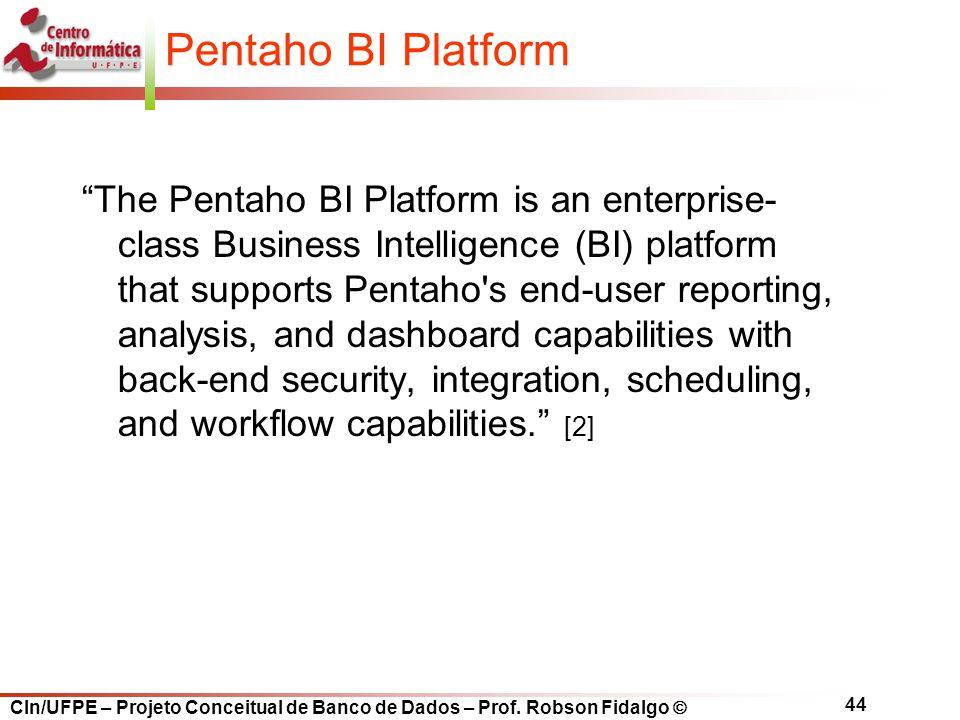 Pentaho BI Platform