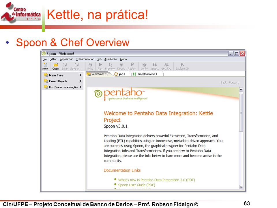 Kettle, na prática! Spoon & Chef Overview