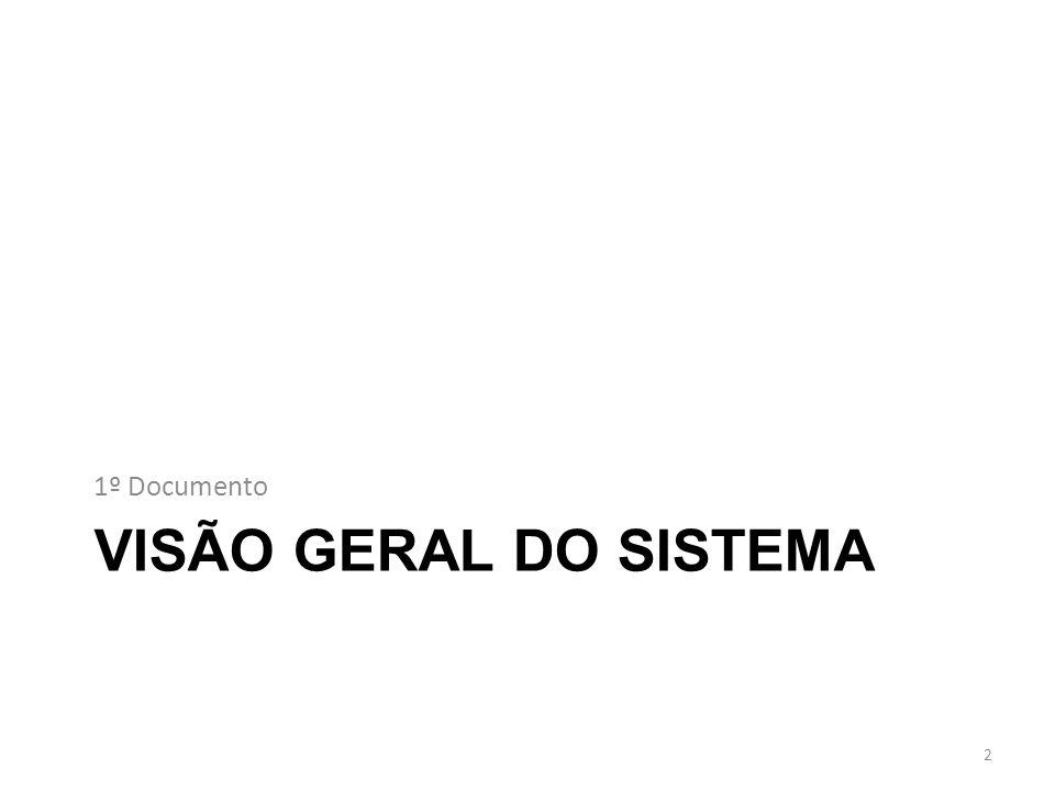 1º Documento VISÃO GERAL DO SISTEMA
