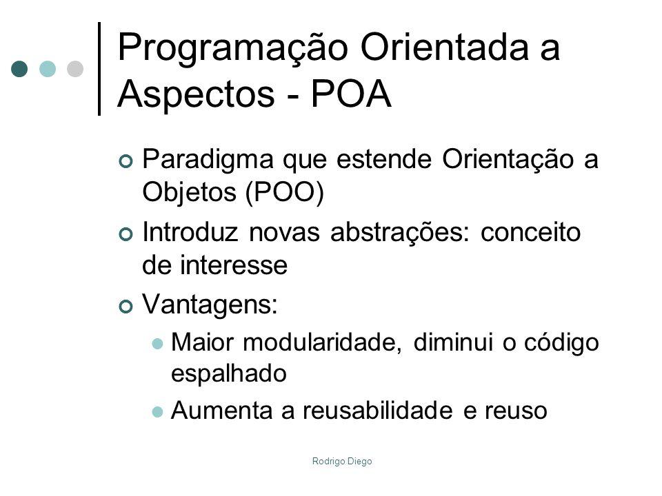 Programação Orientada a Aspectos - POA