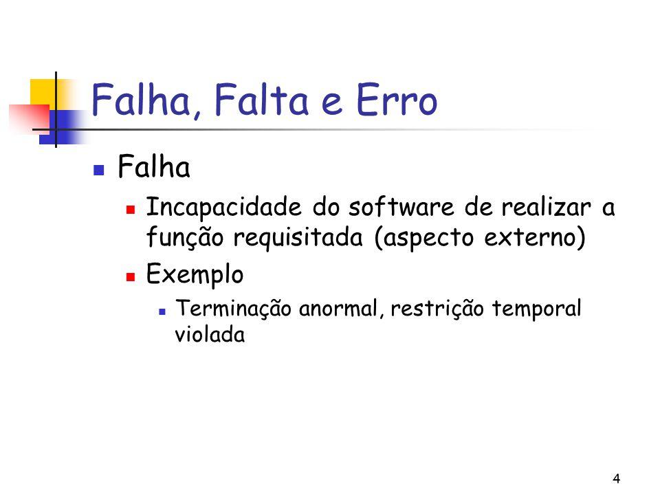 Falha, Falta e Erro Falha
