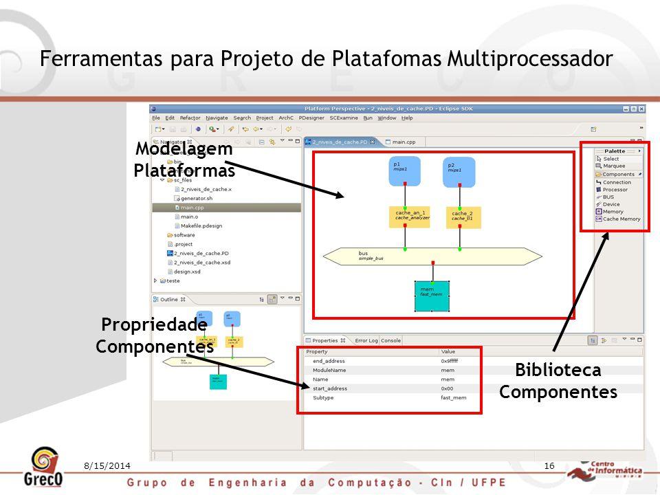 Ferramentas para Projeto de Platafomas Multiprocessador