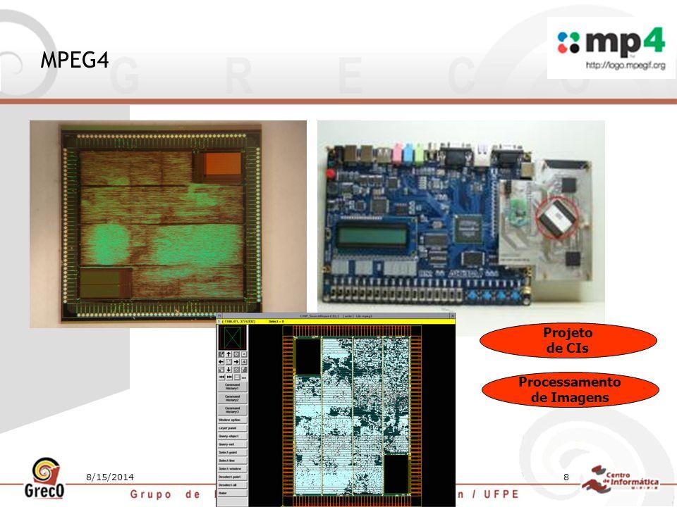 MPEG4 Projeto de CIs Processamento de Imagens 4/5/2017
