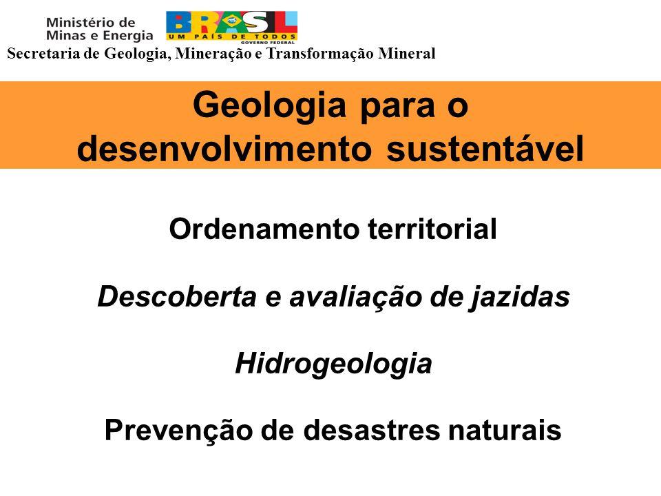 Geologia para o desenvolvimento sustentável