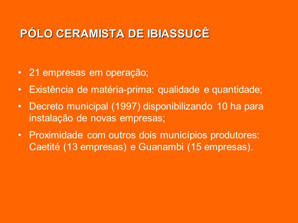 PÓLO CERAMISTA DE IBIASSUCÊ