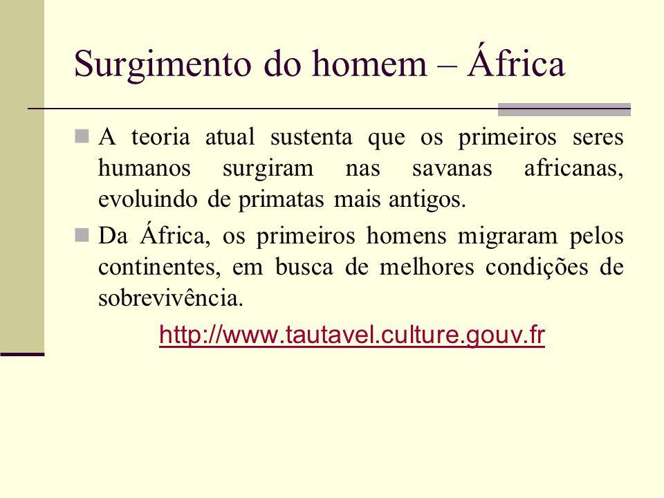 Surgimento do homem – África