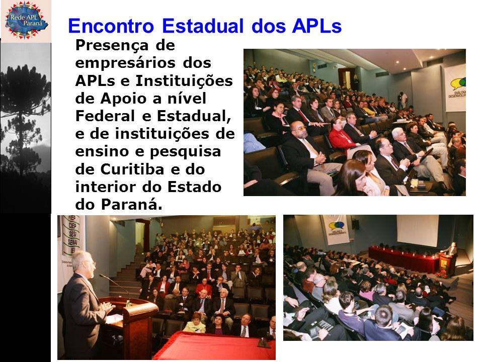 Encontro Estadual dos APLs