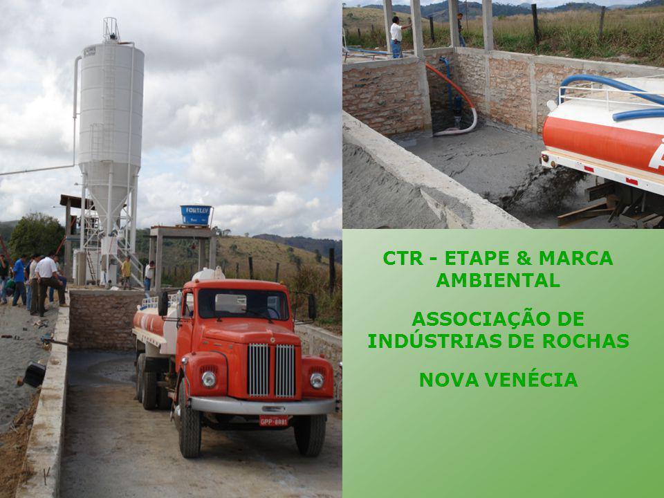 CTR - ETAPE & MARCA AMBIENTAL ASSOCIAÇÃO DE INDÚSTRIAS DE ROCHAS