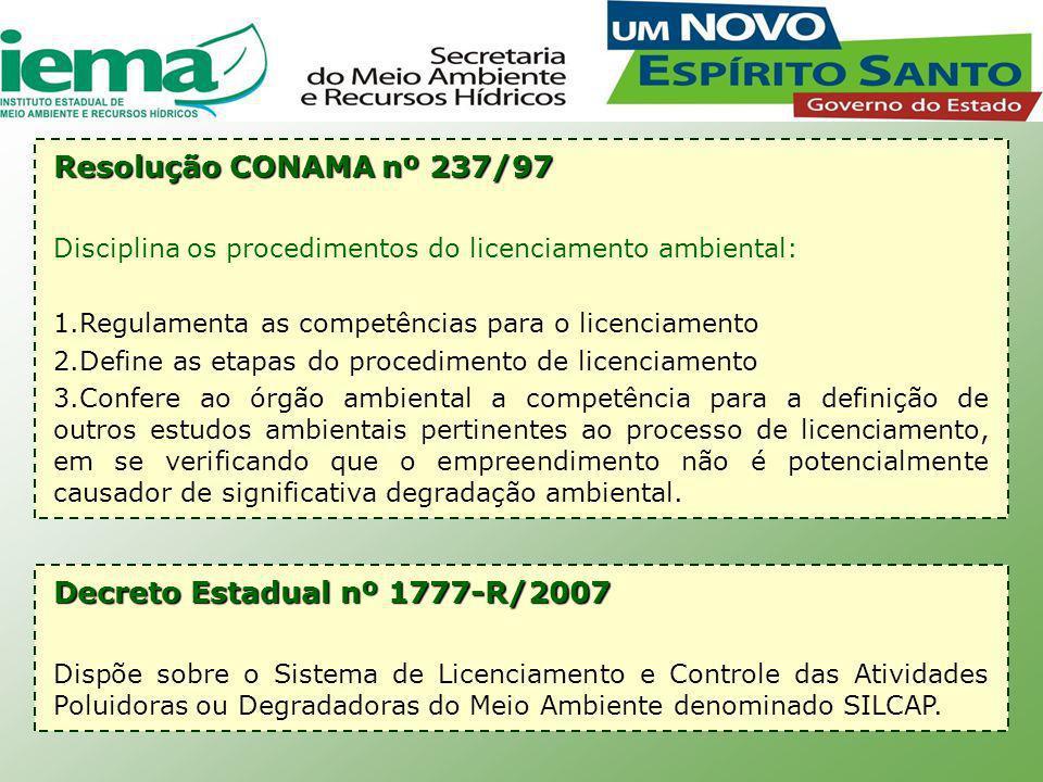 Decreto Estadual nº 1777-R/2007