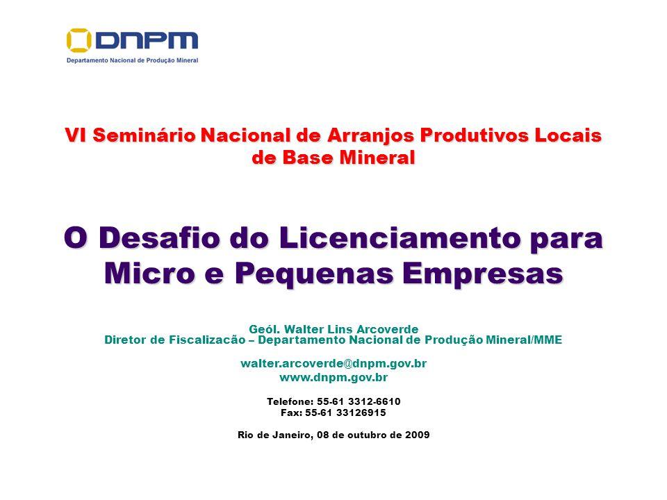 O Desafio do Licenciamento para Micro e Pequenas Empresas