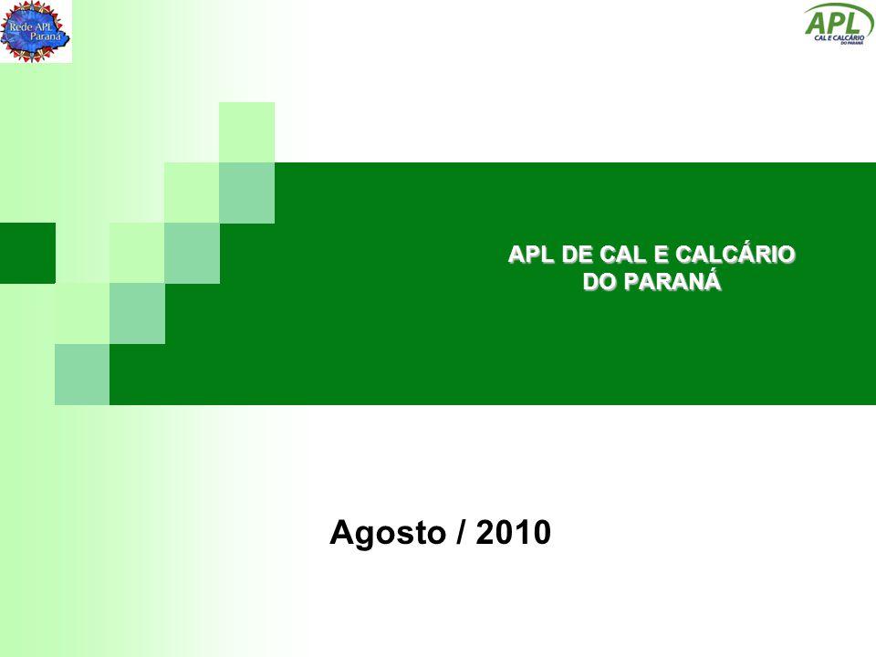 APL DE CAL E CALCÁRIO DO PARANÁ