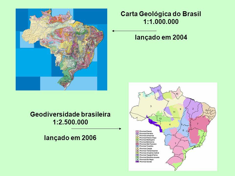 Carta Geológica do Brasil 1:1.000.000