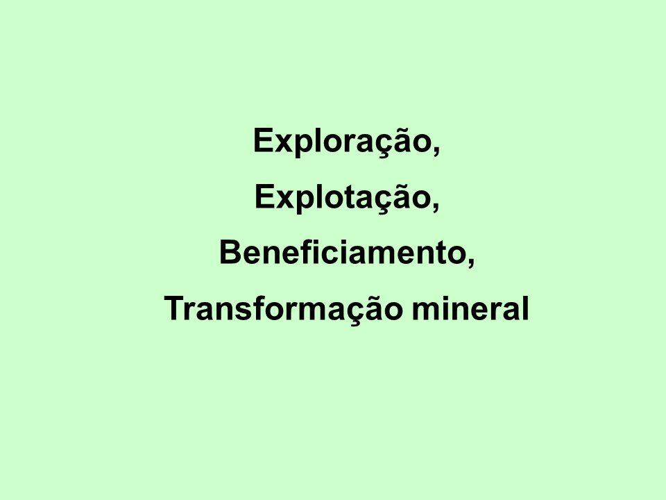 Transformação mineral