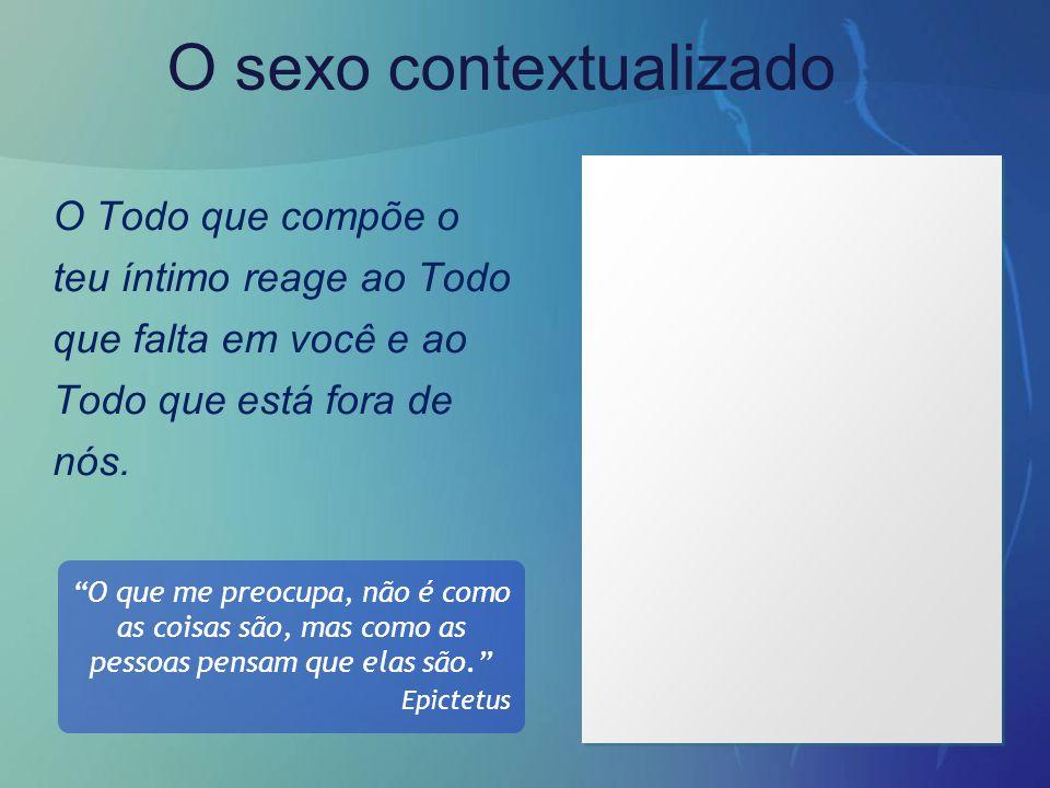 O sexo contextualizado