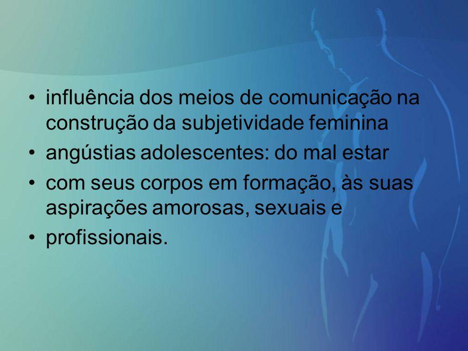 influência dos meios de comunicação na construção da subjetividade feminina