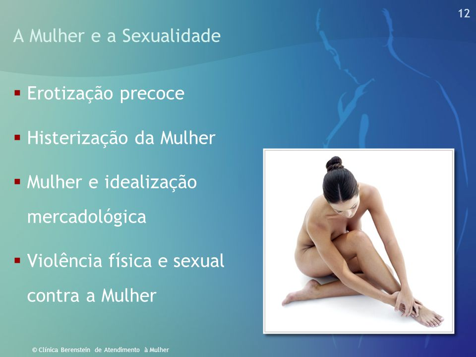 A Mulher e a Sexualidade