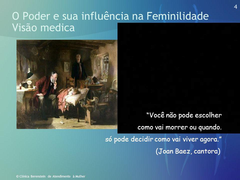 O Poder e sua influência na Feminilidade Visão medica