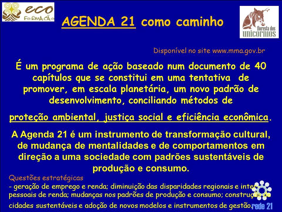 proteção ambiental, justiça social e eficiência econômica.