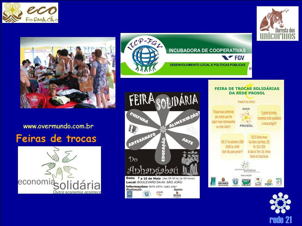 www.overmundo.com.br Feiras de trocas