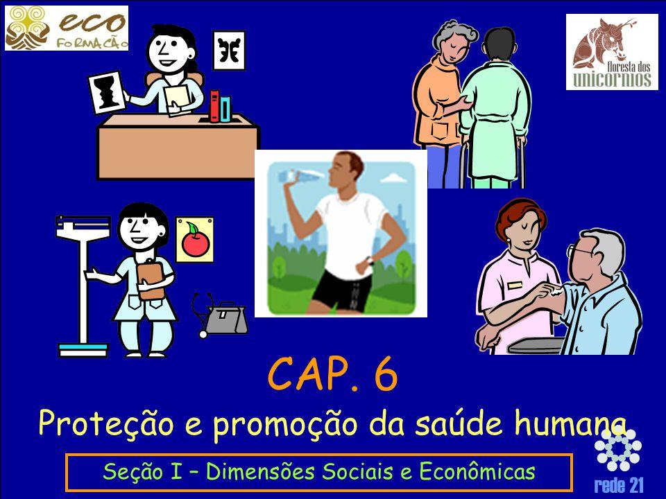 CAP. 6 Proteção e promoção da saúde humana