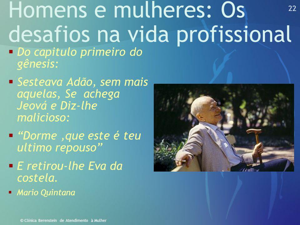 Homens e mulheres: Os desafios na vida profissional