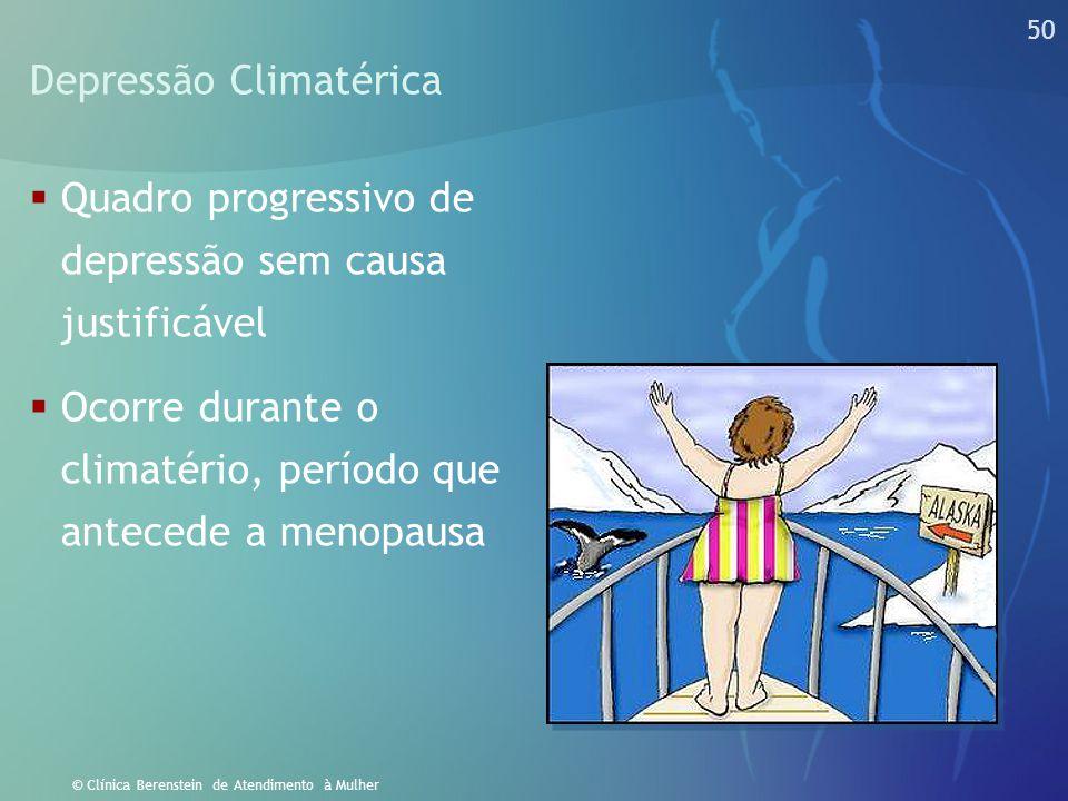 Depressão Climatérica
