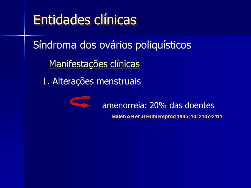 Entidades clínicas Síndroma dos ovários poliquísticos