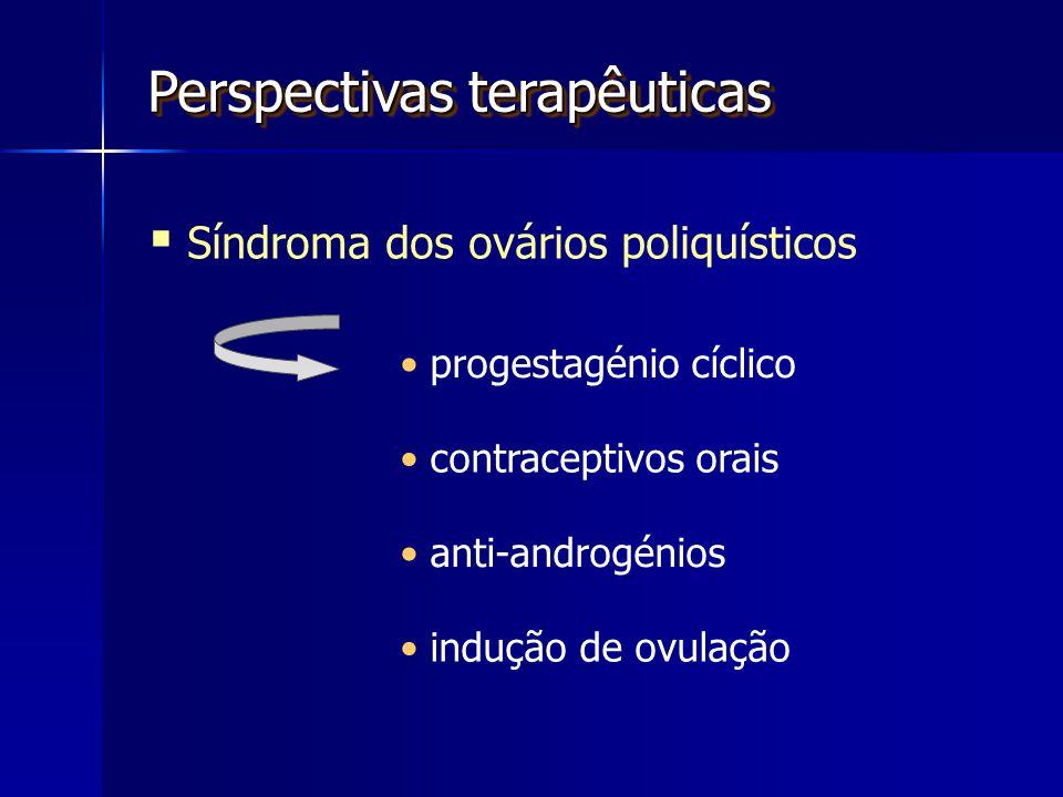 Perspectivas terapêuticas