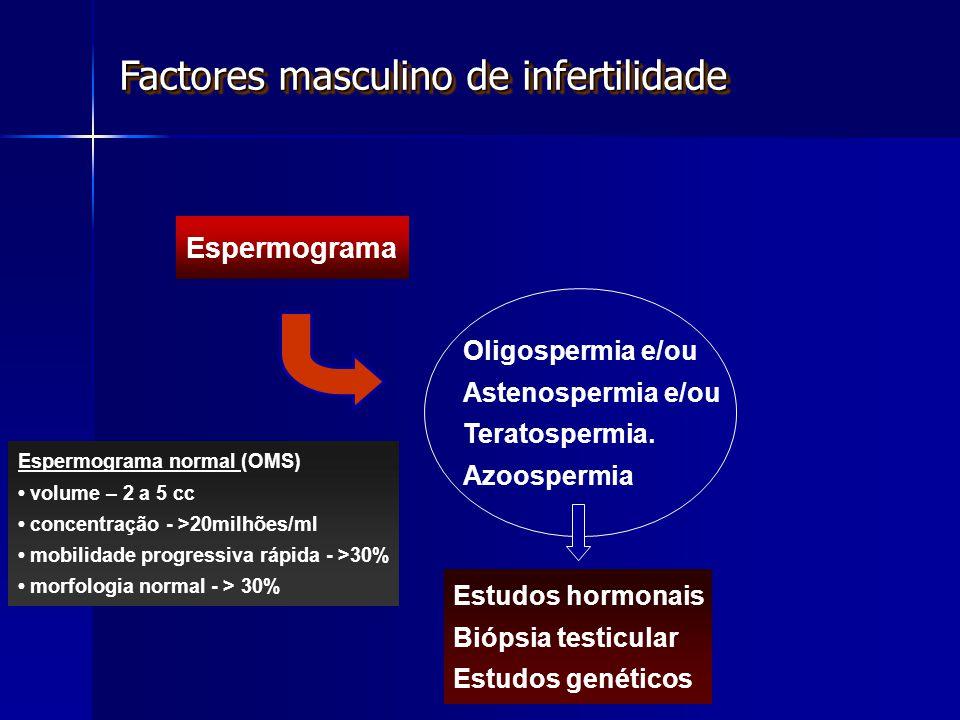 Factores masculino de infertilidade