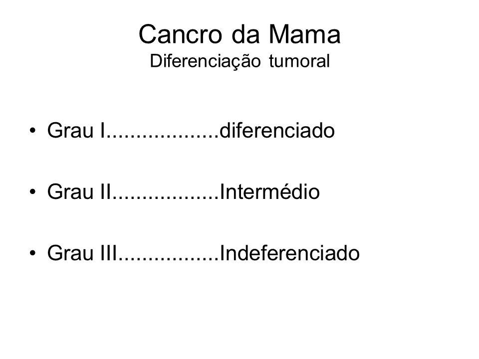Cancro da Mama Diferenciação tumoral