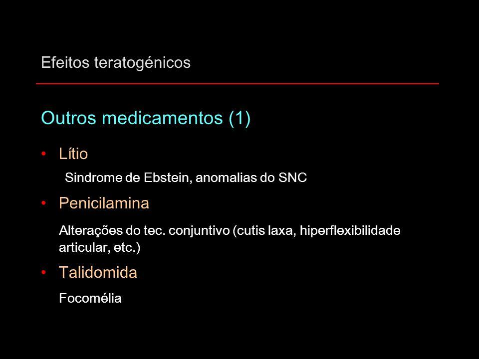 Efeitos teratogénicos