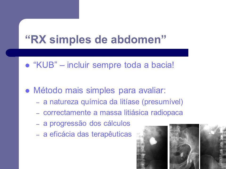 RX simples de abdomen