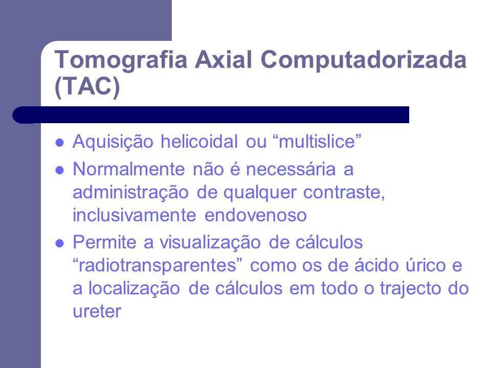 Tomografia Axial Computadorizada (TAC)