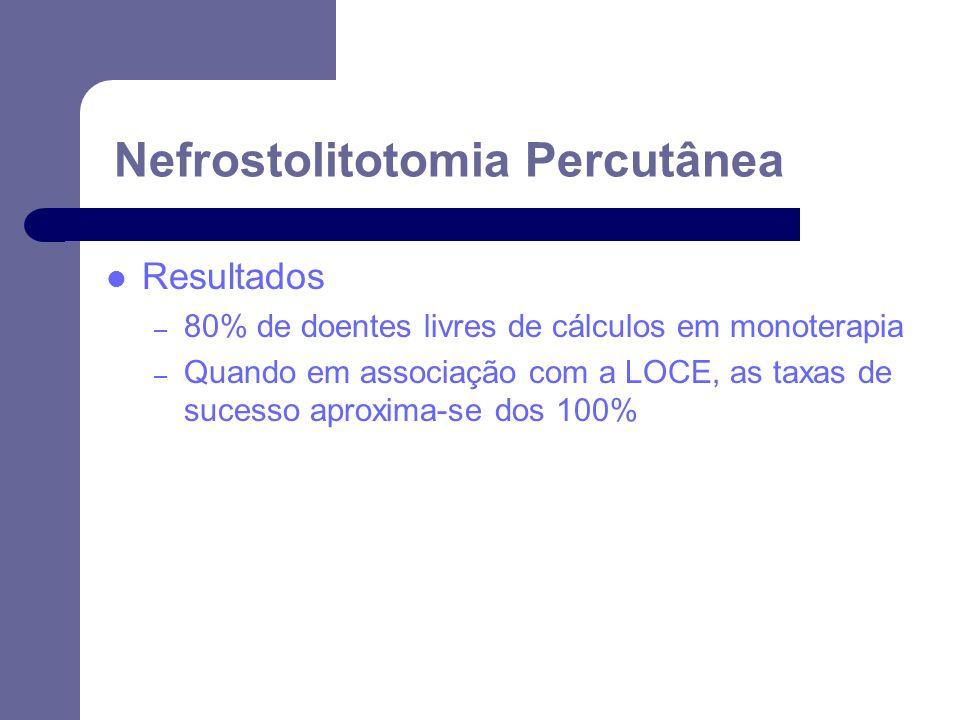 Nefrostolitotomia Percutânea