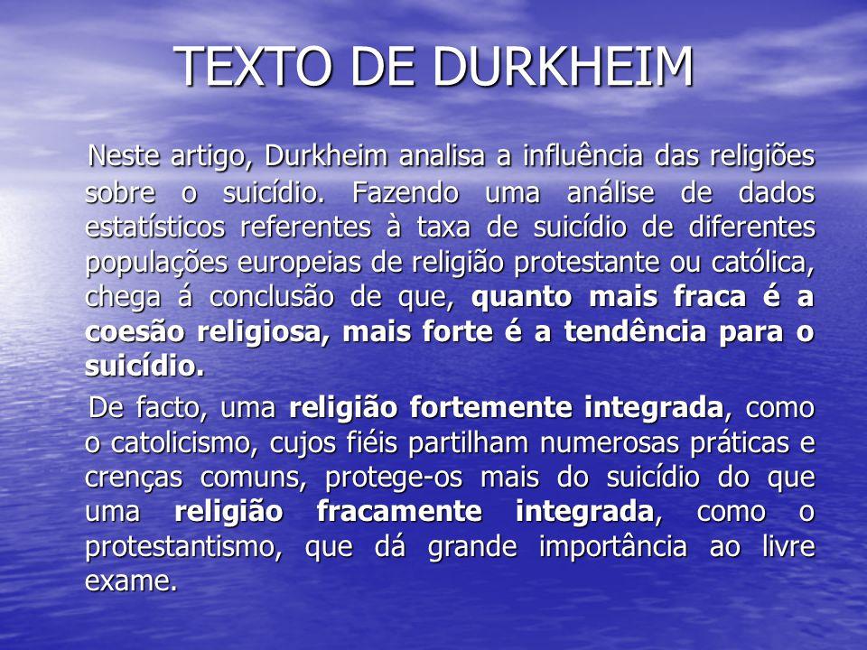 TEXTO DE DURKHEIM