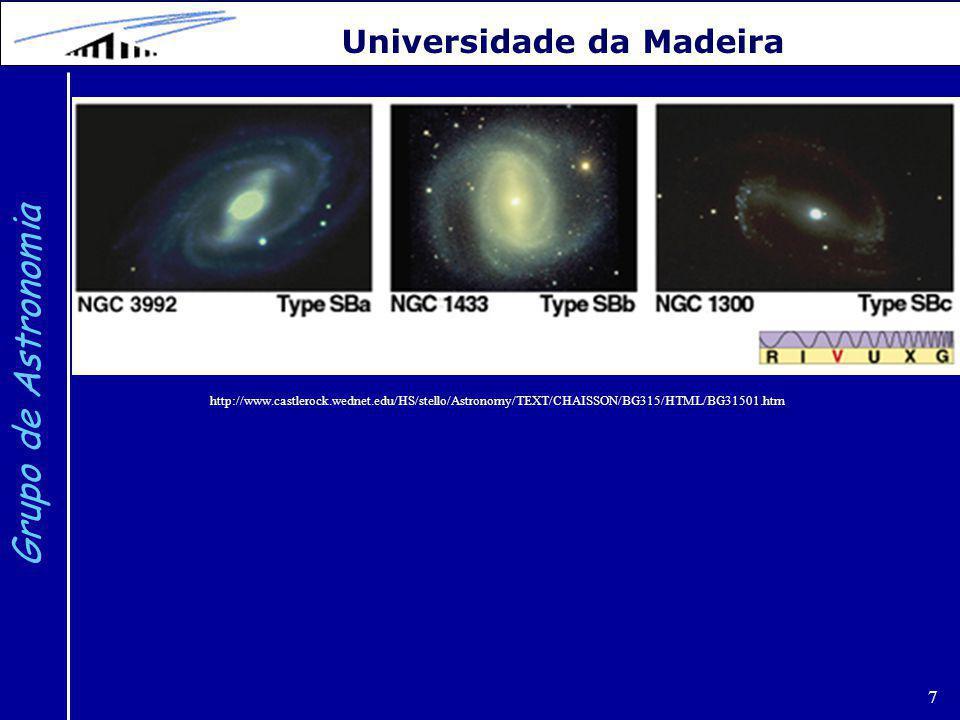 Grupo de Astronomia Universidade da Madeira 7